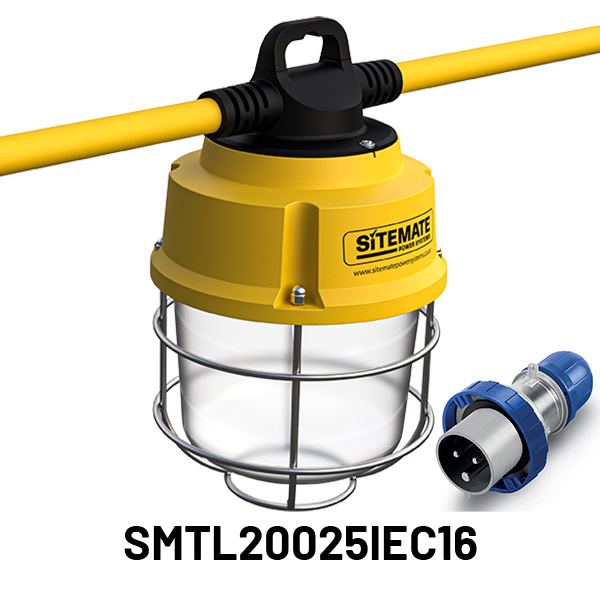 SMTL20025IEC16 Sitemate Tufflite Temporary Protected Installed Lighting