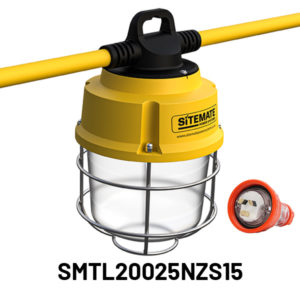 SMTL20025NZS15 Sitemate Tufflite Temporary Protected Installed Lighting